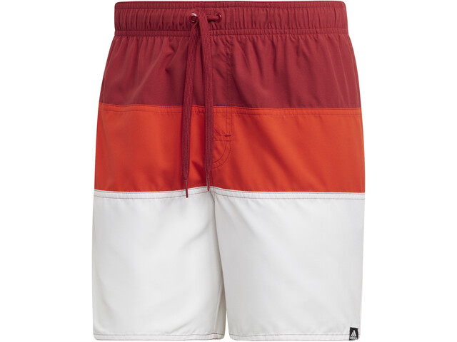adidas Colourblock SL Caleçon de bain Homme, active maroon/active orange
